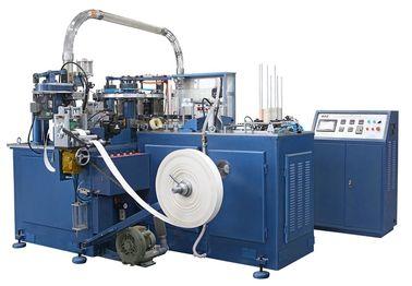 Cina SCM-600 90pcs / min Kertas Otomatis Piala Mesin / Mesin Dengan Heater Sealing / unit Ultrasonic Distributor